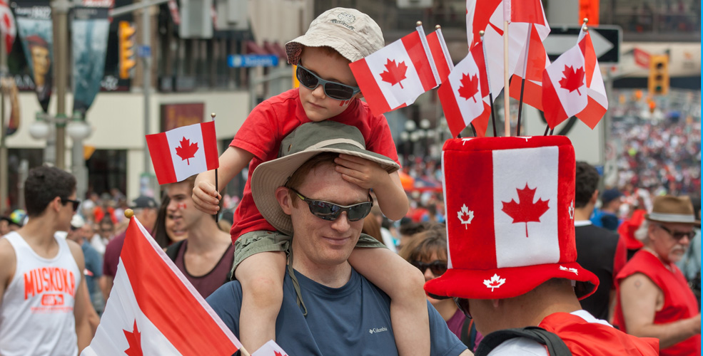 Canada Day Family / Shutterstock