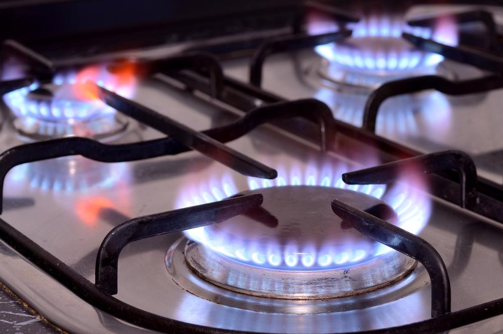 Image: Gas stove via Shutterstock