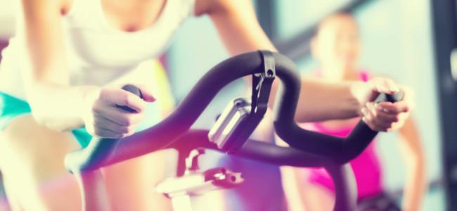 Spin class / Shutterstock