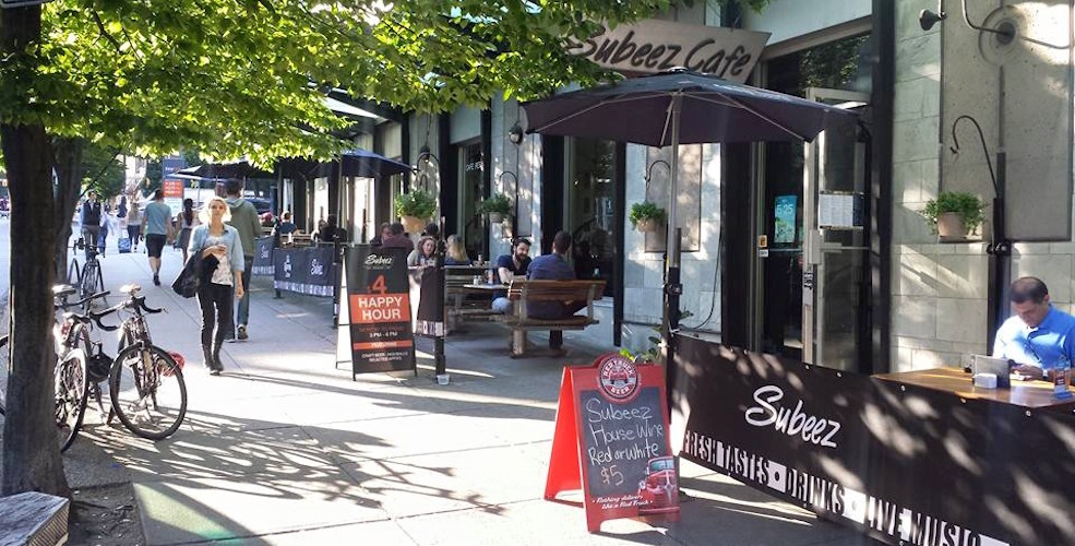Subeez Cafe/Yaletown https://www.facebook.com/Subeez/photos/pb.134578246606625.-2207520000.1434128316./921158564615252/?type=3&theater