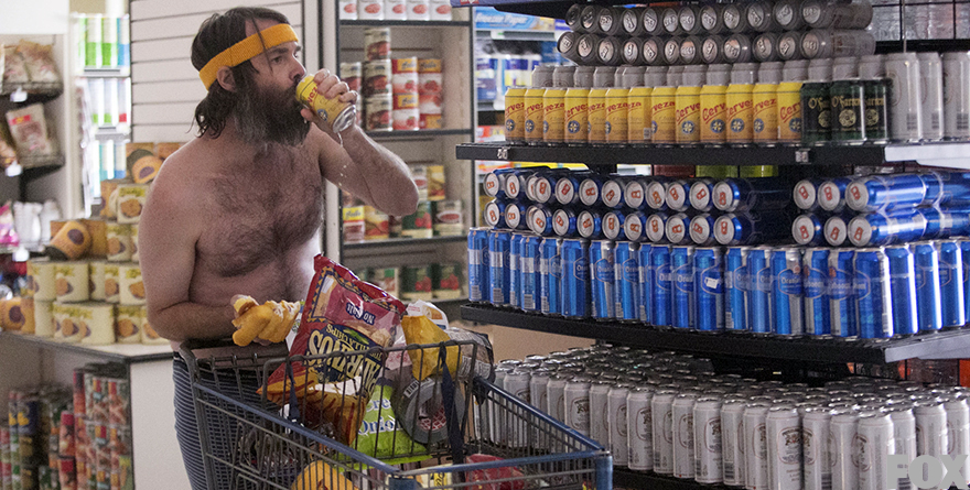 Who cares what your diet is like when you're the last man on Earth?