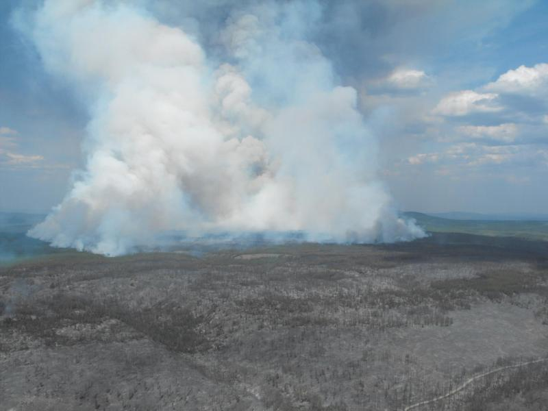 Cariboo Regional District Puntzi Lake Fire