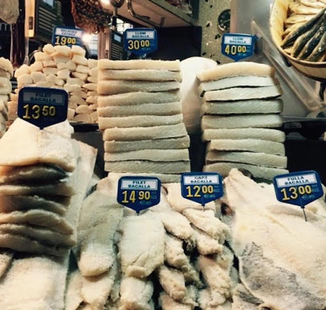 Salt cod in Spain (Jonathan Chovancek)