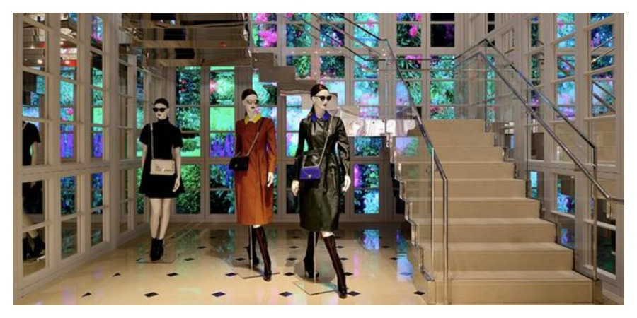Dior Video Wall