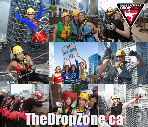 Image: Easter Seals Drop Zone 2014