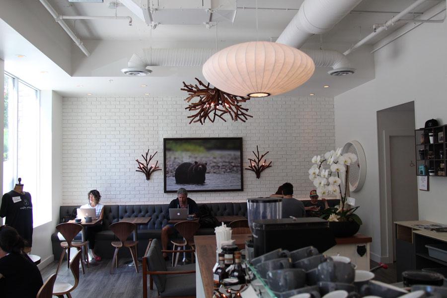 Inside Cafe Orso (Behdad Mahichi / Vancity Buzz)
