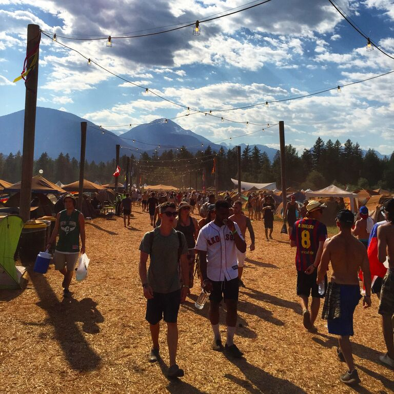 Pemberton Music Festival Crowd