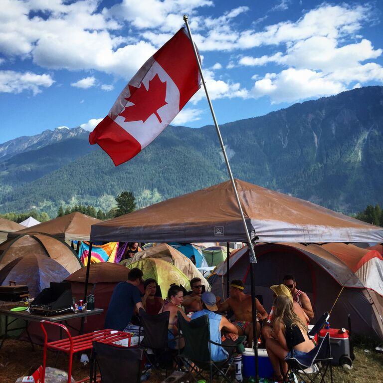 Pemberton Music Festival campers