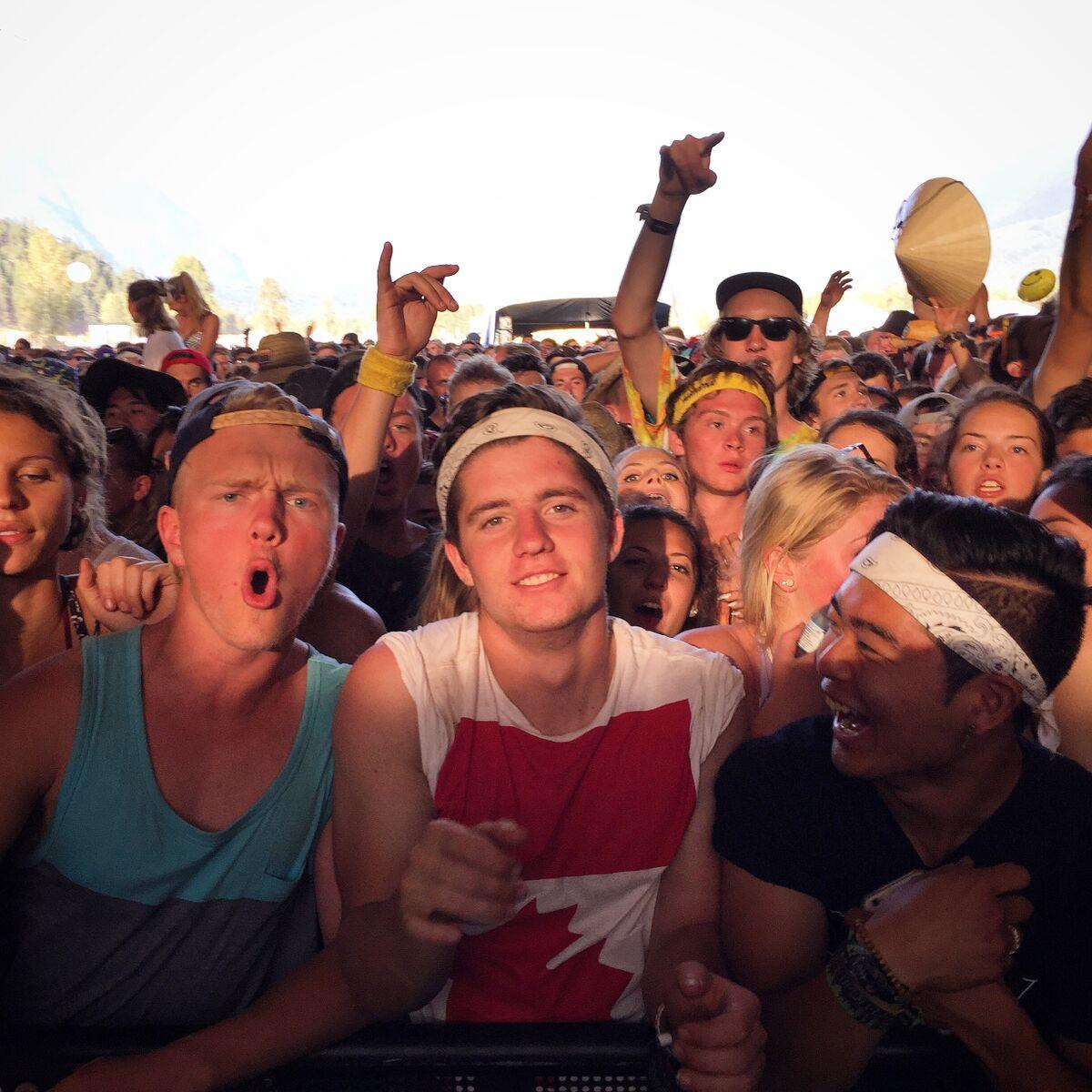 Pemberton Music Festival crowds 2