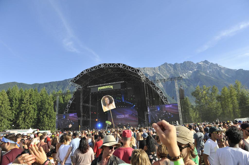 Pemberton Music Festival crowds