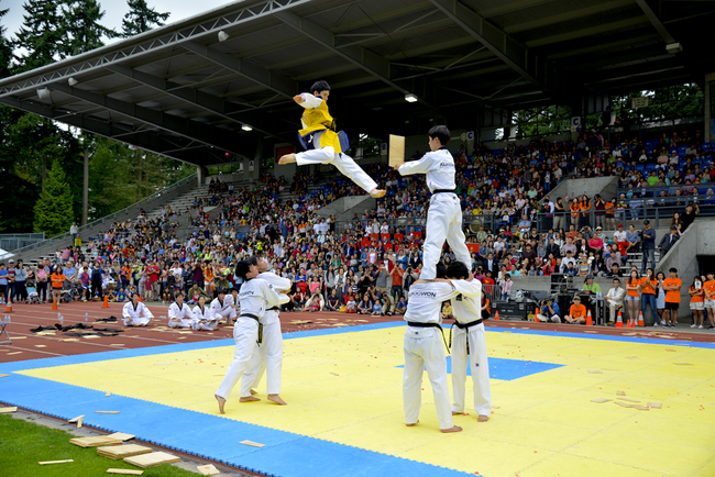 Enjoy a one of a kind Kukkiwon Tae Kwon Do demonstration.