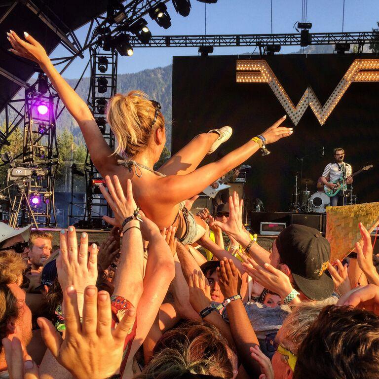 Weezer Pemberton Festival