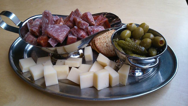 Meat and cheese platter (Interactivity Board Game Cafe/Facebook)