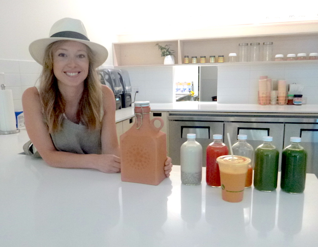 Nectar Juicery's Tori Holmes (Lindsay William-Ross/Vancity Buzz)