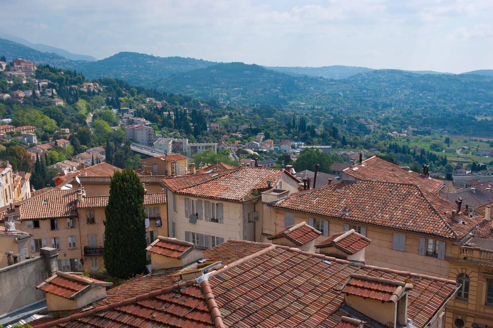 Grasse, France via Shutterstock