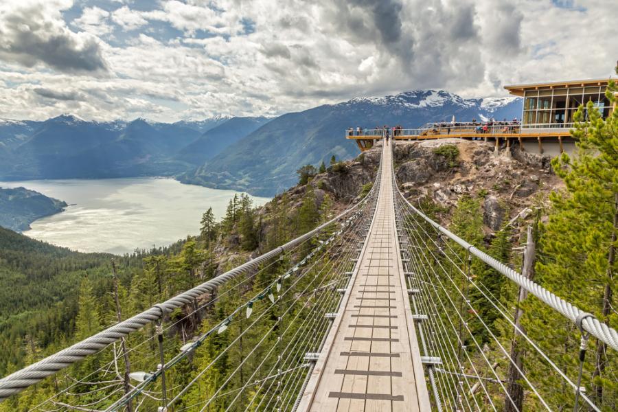 Image: Sea to Sky Gondola via Shutterstock