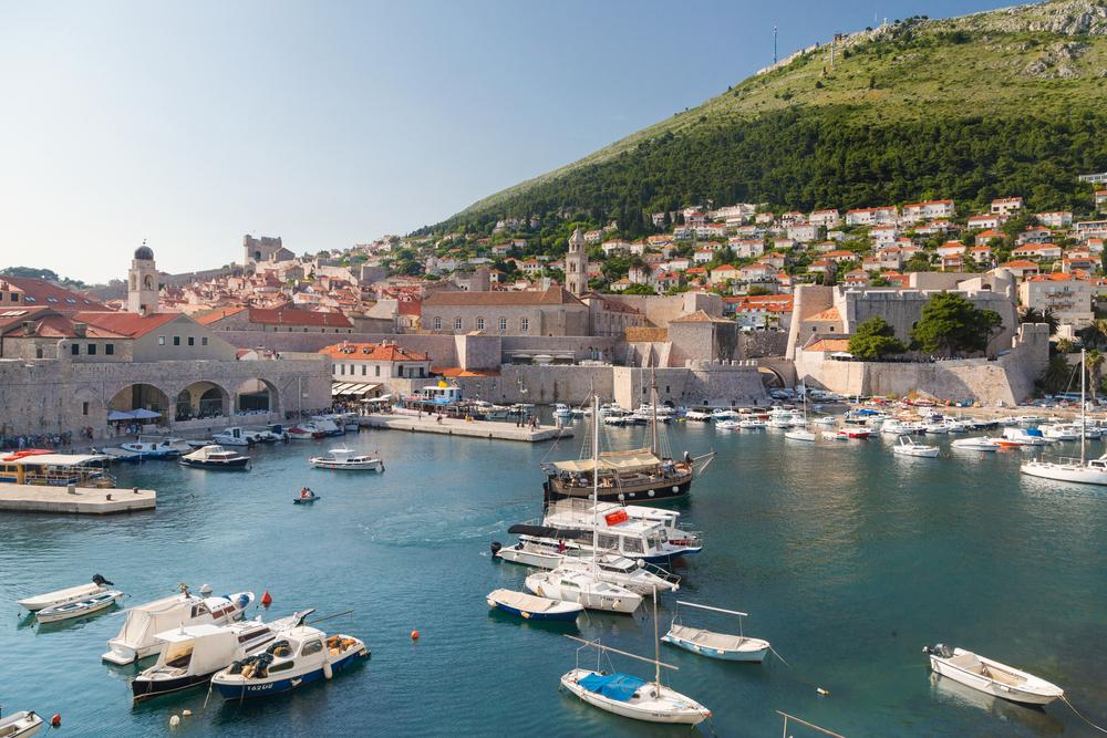 Mount Srdj, Croatia via Shutterstock