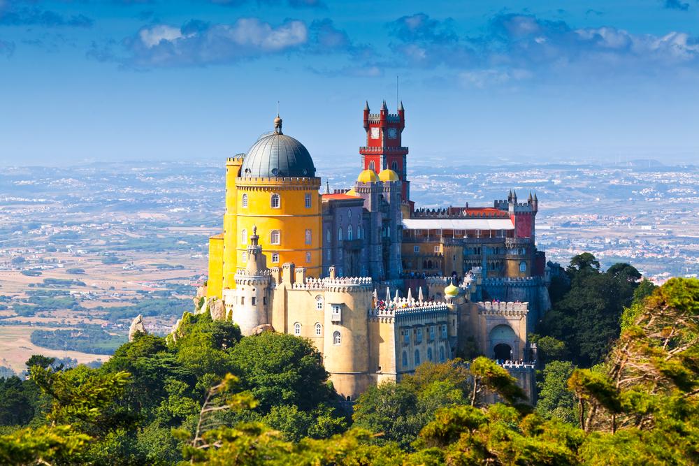 Sintra, Portugal via Shutterstock