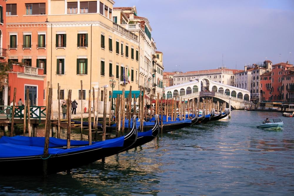 Venice via shutterstock