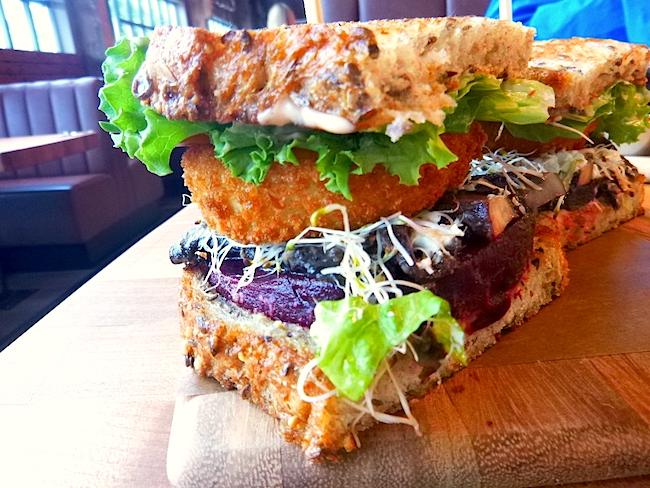 Veggie sandwich (Lindsay William-Ross/Vancity Buzz)