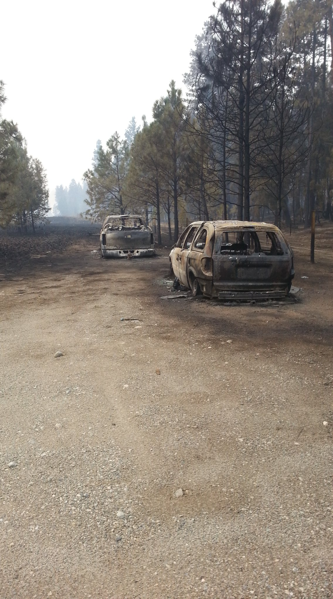 Image: Darrin Metcalf via Rock Creek Fire and Evacuee Information Group / Facebook