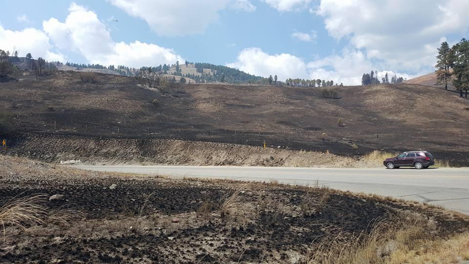Image: Tay Ferguson via Rock Creek Fire and Evacuee Information Group / Facebook