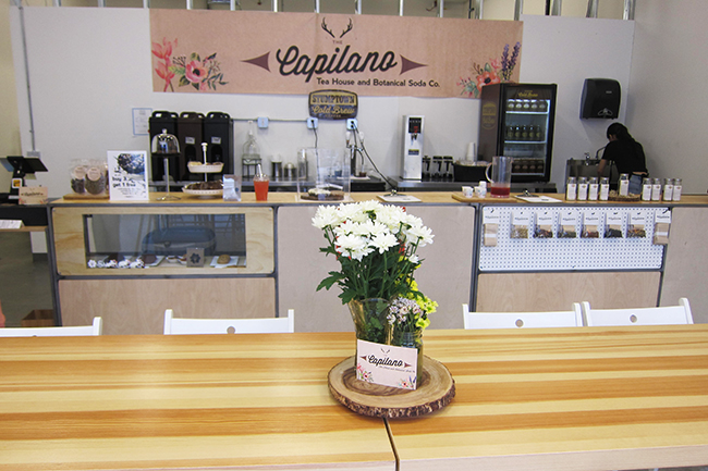 Capilano Tea House and Bontanical Soda Co. (Jess Fleming / Vancity Buzz)