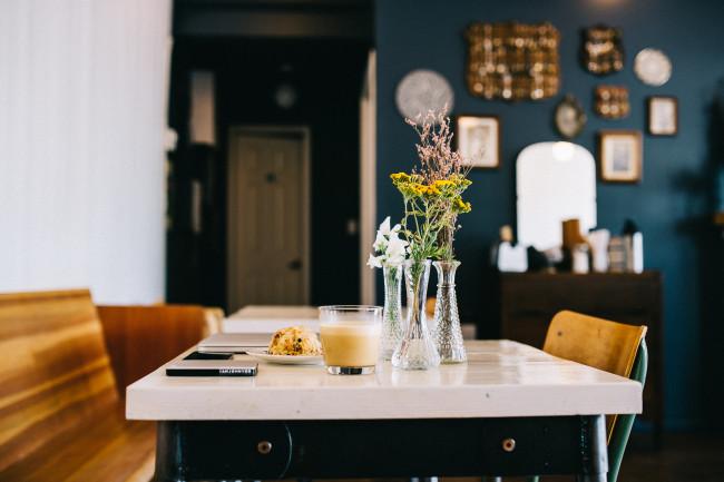 Table setting at Oldhand (IAMJOHNYOO)