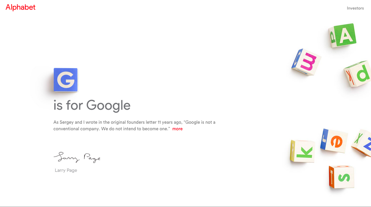 Screenshot/Alphabet
