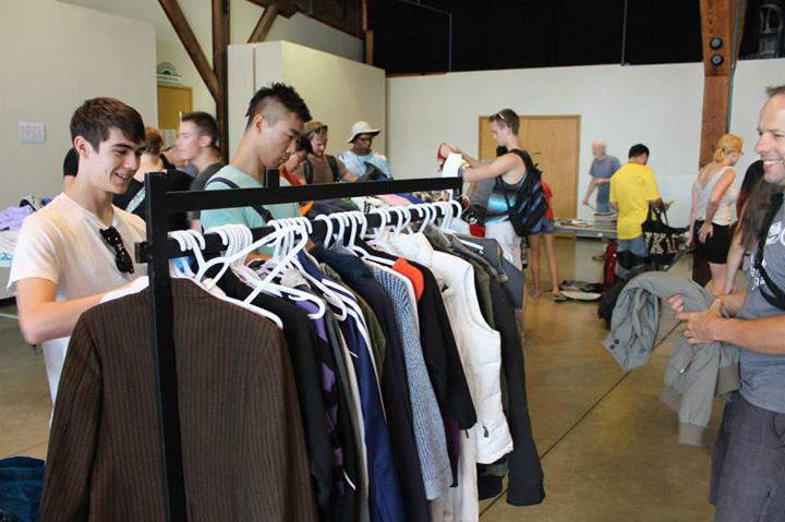 Vancouver's Largest Clothing Swamp 2014