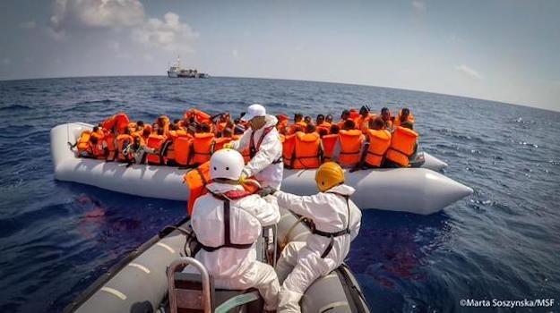 Image: Marta Soszynska / MSF / Via Twitter: @MSF_Sea