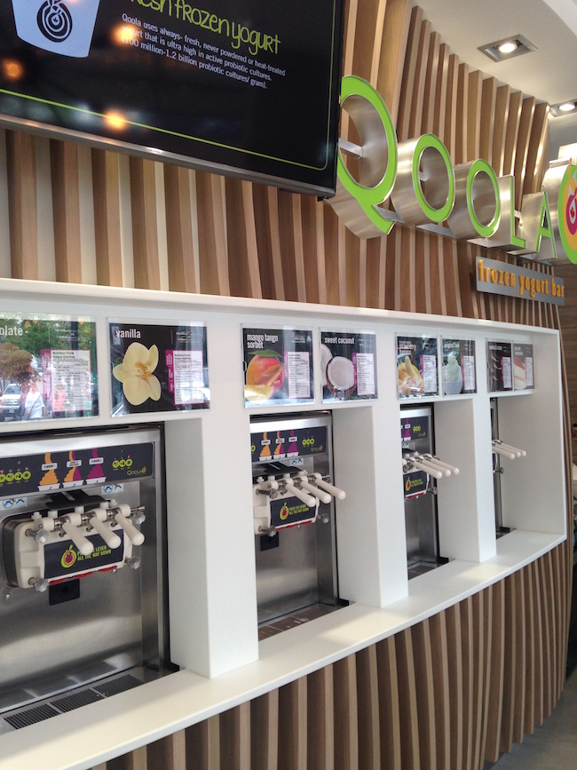 Self-serve froyo (Lindsay William-Ross/Vancity Buzz)