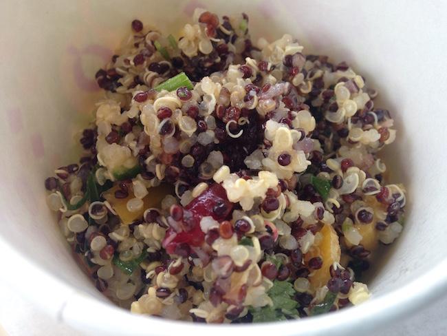 Quinoa salad (Lindsay William-Ross/Vancity Buzz)