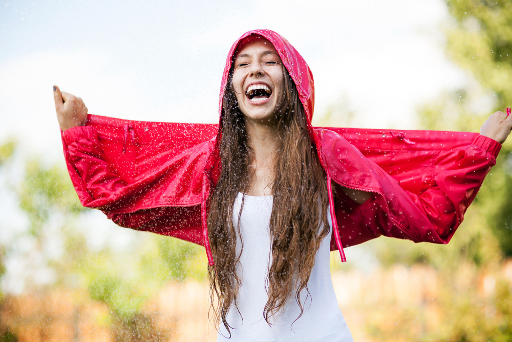Rain Jacket/Shutterstock