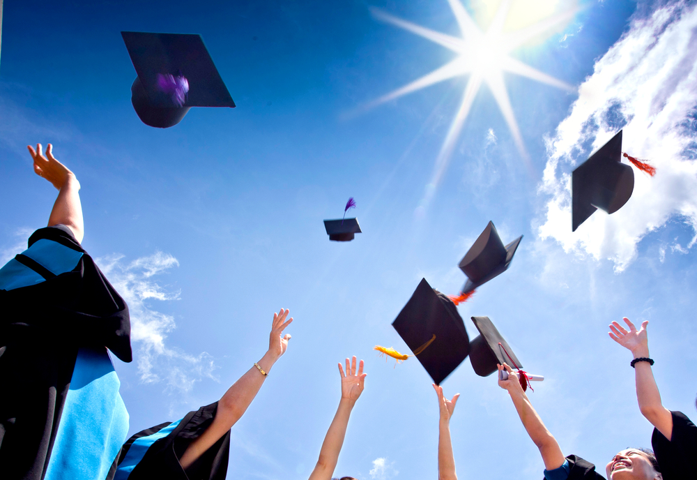 Graduating/Shutterstcok
