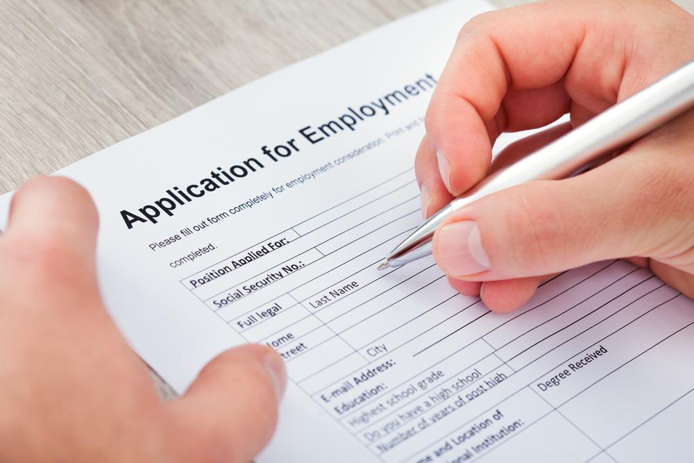 Job application / Shutterstock