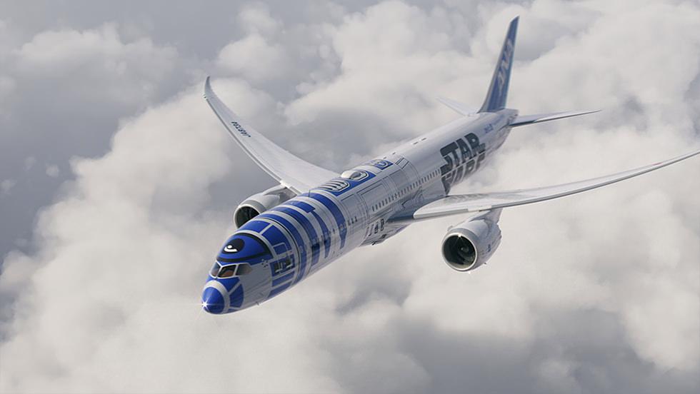 Image: All Nippon Airways / Star Wars