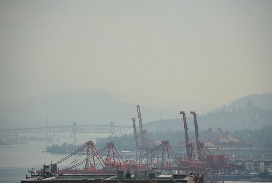 Image: Clean Air B.C. Webcam