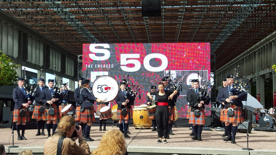 Image: SFU Pipe Band via Facebook