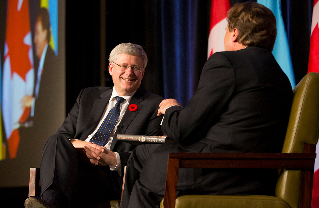Stephen Harper via Flickr