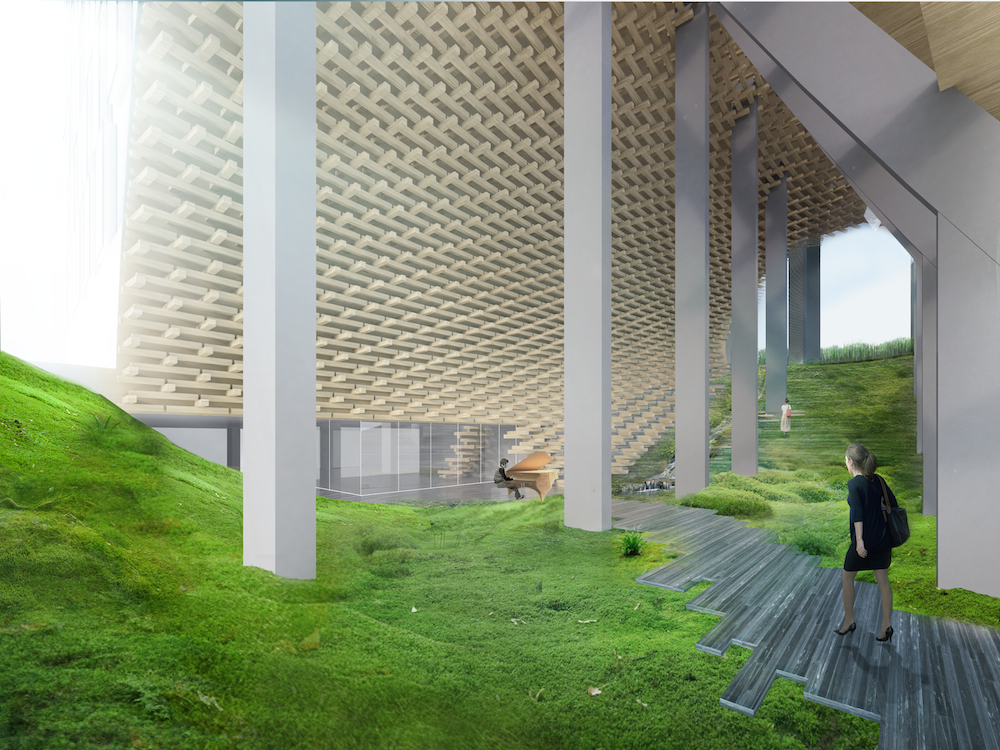 Image: Kengo Kuma / Westbank Projects Corporation
