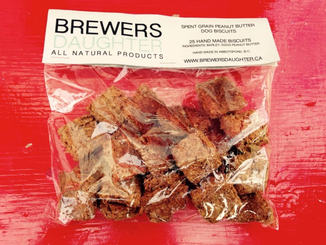 All natural dog treats (image submitted: Ravens Brewing Company)