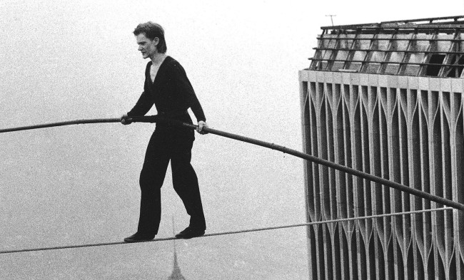 Image: Man on Wire Documentary courtesy of Magnolia Pictures
