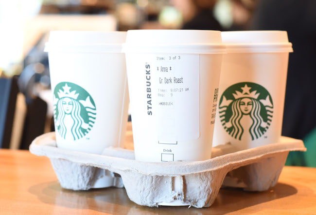 Boom! (Photo courtesy Starbucks)