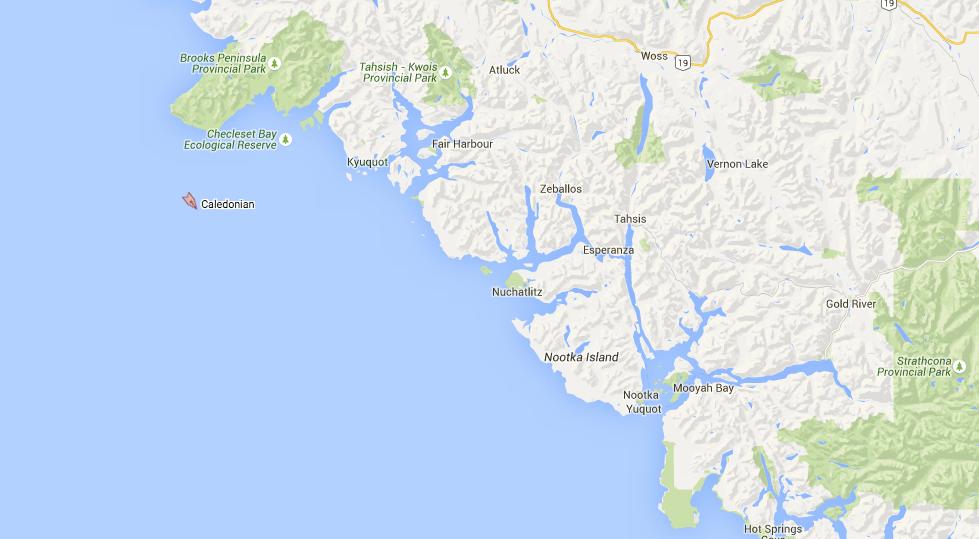 Image: Marine Traffic / Google Maps