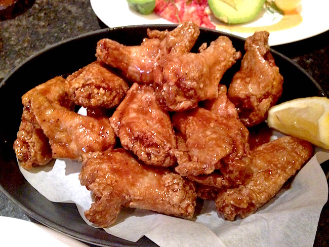 Salt and Pepper wings at YEW (Lindsay William-Ross/Vancity Buzz)