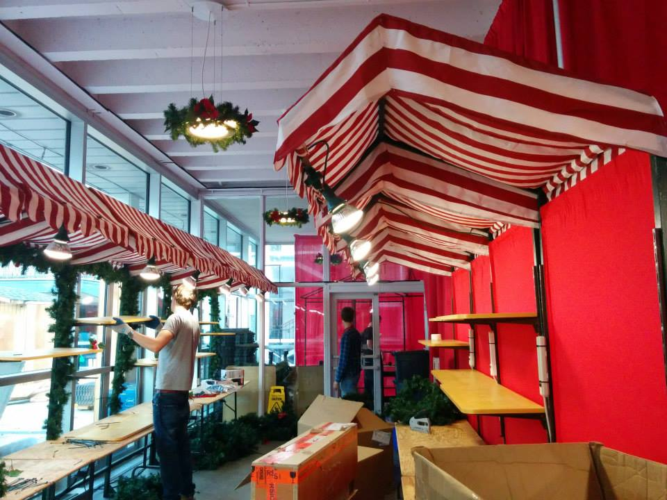 Image: Vancouver Christmas Market