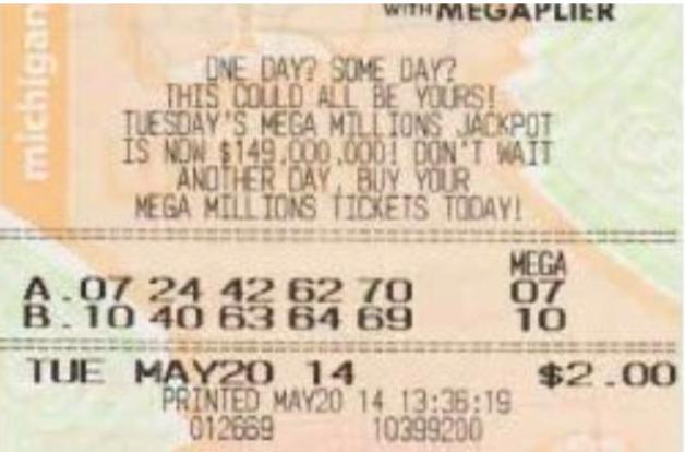Image: Michigan Lottery