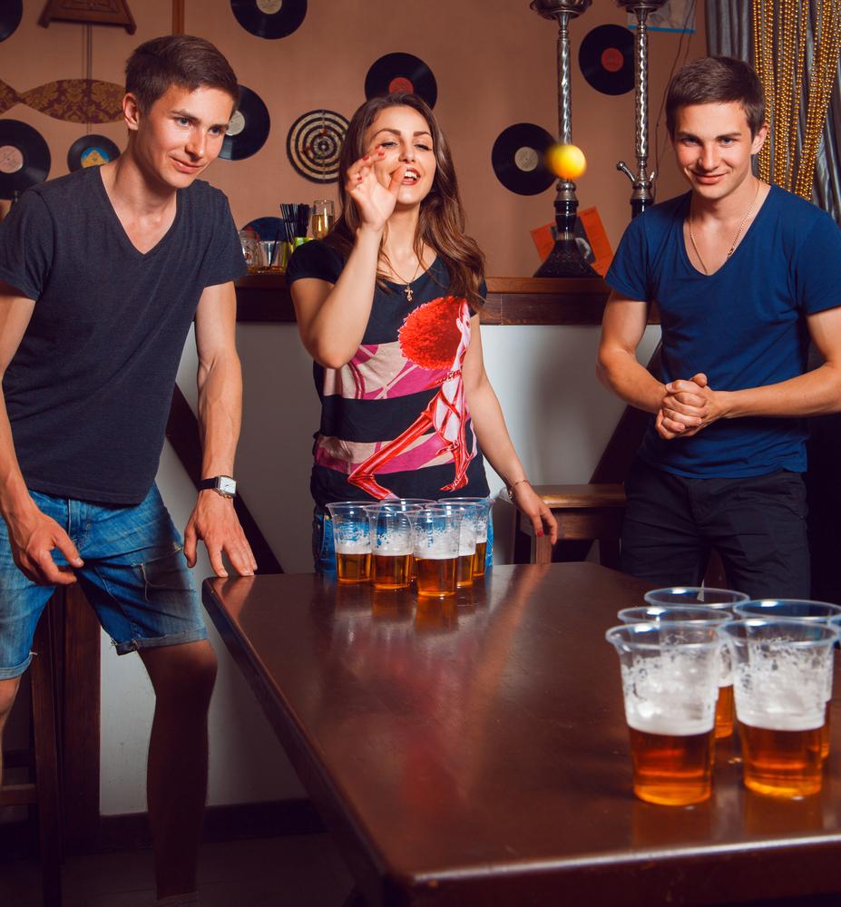 Beer Pong/Shutterstock