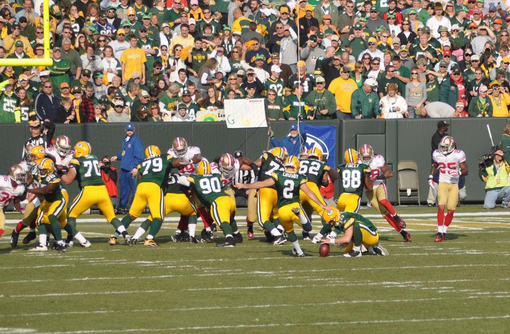 Image: Green Bay Packers via Shutterstock